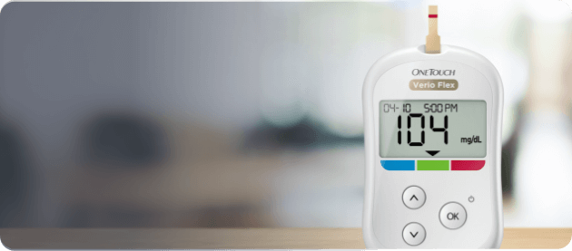 See if you qualify for a free OneTouch Verio Flex® meter button