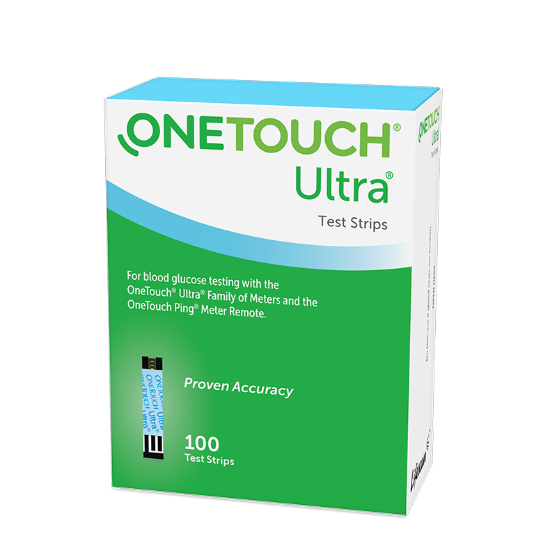 OneTouch Ultra® blood sugar test strips