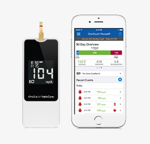 Verio Flex Blood Glucose Meter  OneTouch