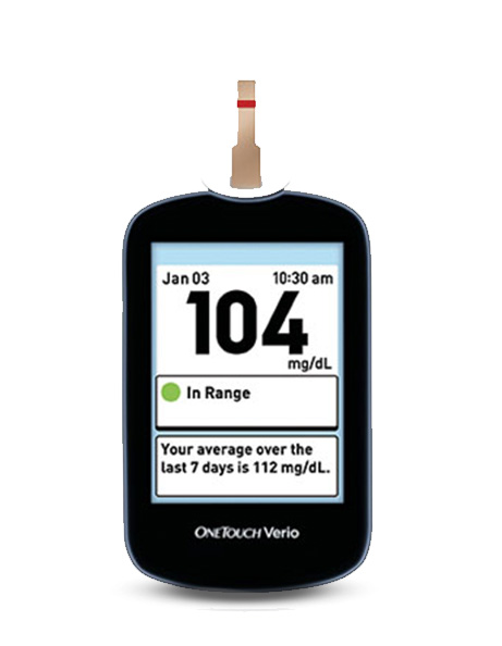 OneTouch Verio Glucose Meter